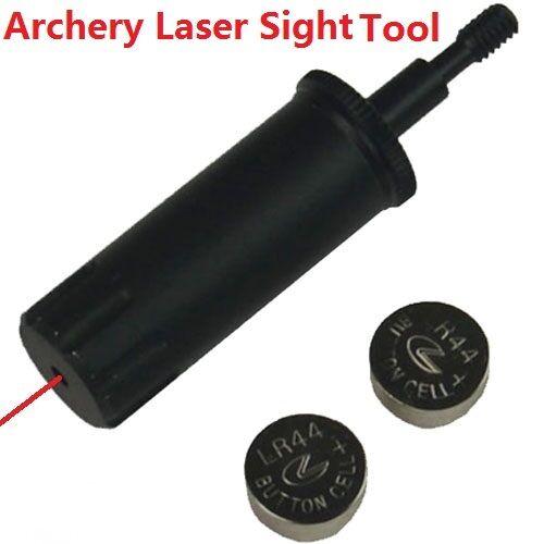 Archery Laser Sighting Tool Crossbow//Bow Arrow Sight Bore Sighter Boresight