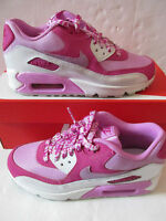Nike Air Max 90 Mesh (gs) Trainers 724855 500 Sneakers Shoes
