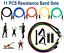 11-un-Conjunto-De-Banda-De-Ejercicio-De-Resistencia-Pilates-Yoga-bandas-de-entrenamiento-ABS-Fitness miniatura 1