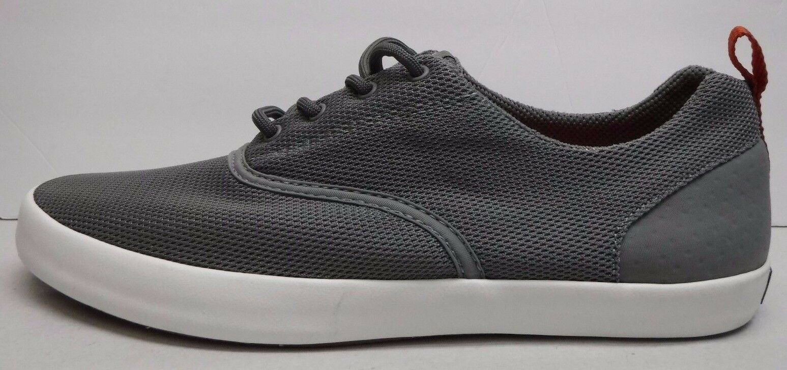 Scarpe casual da uomo  Sperry Size 9 Gray Knit Sneakers New uomos Shoes
