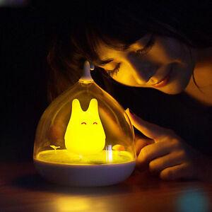 Usb led baby nachtlicht nachttischlampe wandleuchte totoro tragbaretouch sensor ebay - Wandleuchte baby ...