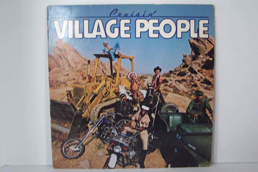 Village People - Cruisin' Vinyl LP Record Album NBLP 71