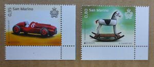 2015-SAN-MARINO-SET-OF-2-OLD-TOYS-MINT-STAMPS-MNH
