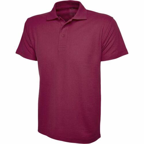 Boys Girls Plain Cotton Polo Shirts Kids School T-Shirt Summer Uniform School PE