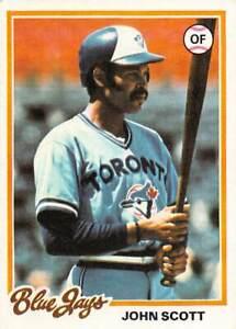 trading card Topps BLUE JAYS 1978 JOHN SCOTT  #547