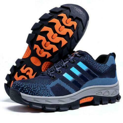 Homme Bottes De Sécurité Baskets Chaussures En Daim Travail Steel Toe Cap Randonneur Taille UK 7-11