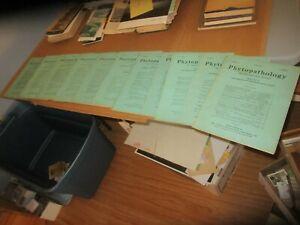 Details about 1953 Plant Pathology Phytopathology Society International  Journal Lot (11)