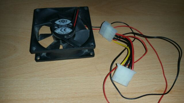 Top Motor DF126010BH 60mm x 10mm 12v cpu cooling case fan 3 pin wire DF1206BH