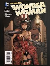 DC Comics New 52 Wonder Woman 28B JG Jones Steampunk Incentive - NM-/VF+