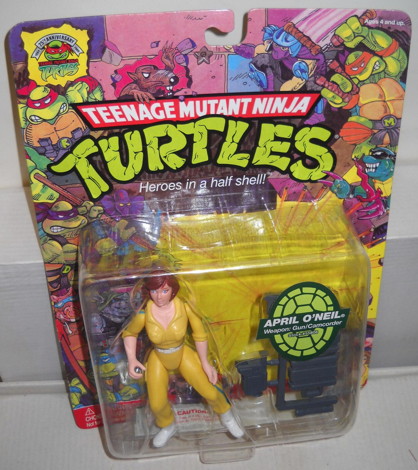 NRFC Playmates TMNT April O'Neil Figure 25th Anniversary Reproduction