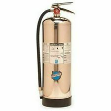 New Stainless Steel 50000 Water Pressure Fire Extinguisher 2a 2 12 Gal