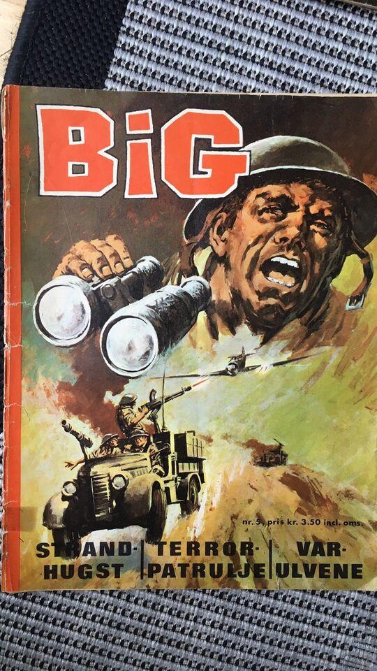 Big nr 5, Tegneserie