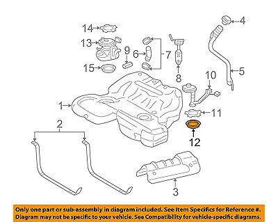 [WQZT_9871]  Cadillac GM OEM 05-11 STS Fuel System-Gas Fuel Tank Sending Unit Seal  25901272 | eBay | Cadillac Fuel Pressure Diagram |  | eBay