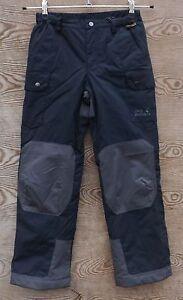 Jack-Wolfskin-Ninos-Explorer-Invierno-Pantalones-Talla-140