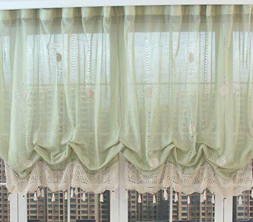 Ds Balloon Curtains Adjustable Tie, Balloon Curtains For Living Room