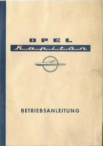 OPEL-KAPITAN-P-2-6-Betriebsanleitung-1960-Bedienungsanleitung-Handbuch-BA