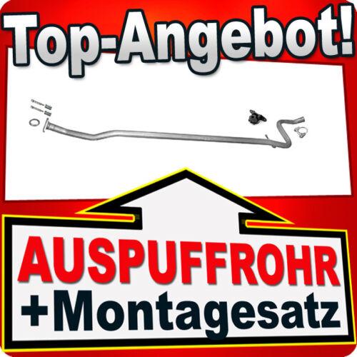 Rohr CITROEN C2 1.1 60PS 04.2005-12.2009 Auspuff Mittelrohr AJL