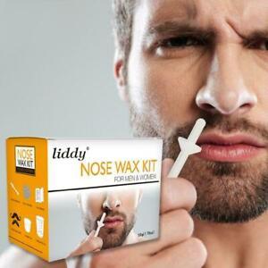 Nasenhaarentfernung-Wachs-Kit-Nasen-Ohr-Haare-Painless-Safe-amp-Effektiver-D9-C6L1