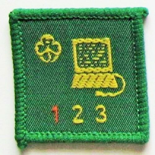New Computer Stage 1 Girl Guide Interest Badge