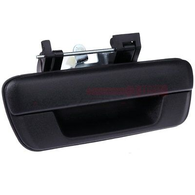 Tailgate Handle w//o Lock Provision Black for 04-12 Chevy Colorado GMC Canyon