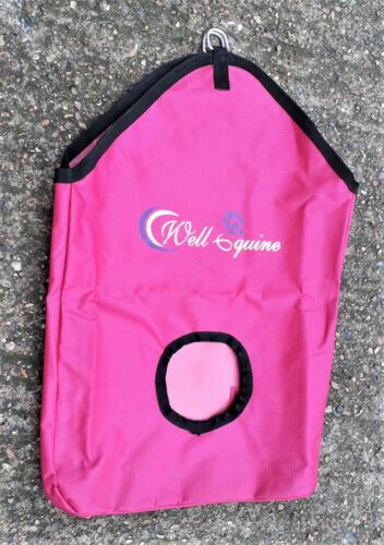 Details about  /New Water Proof Haynets Haybag Horse Feeding Hay Bag Less Waste choice of colors