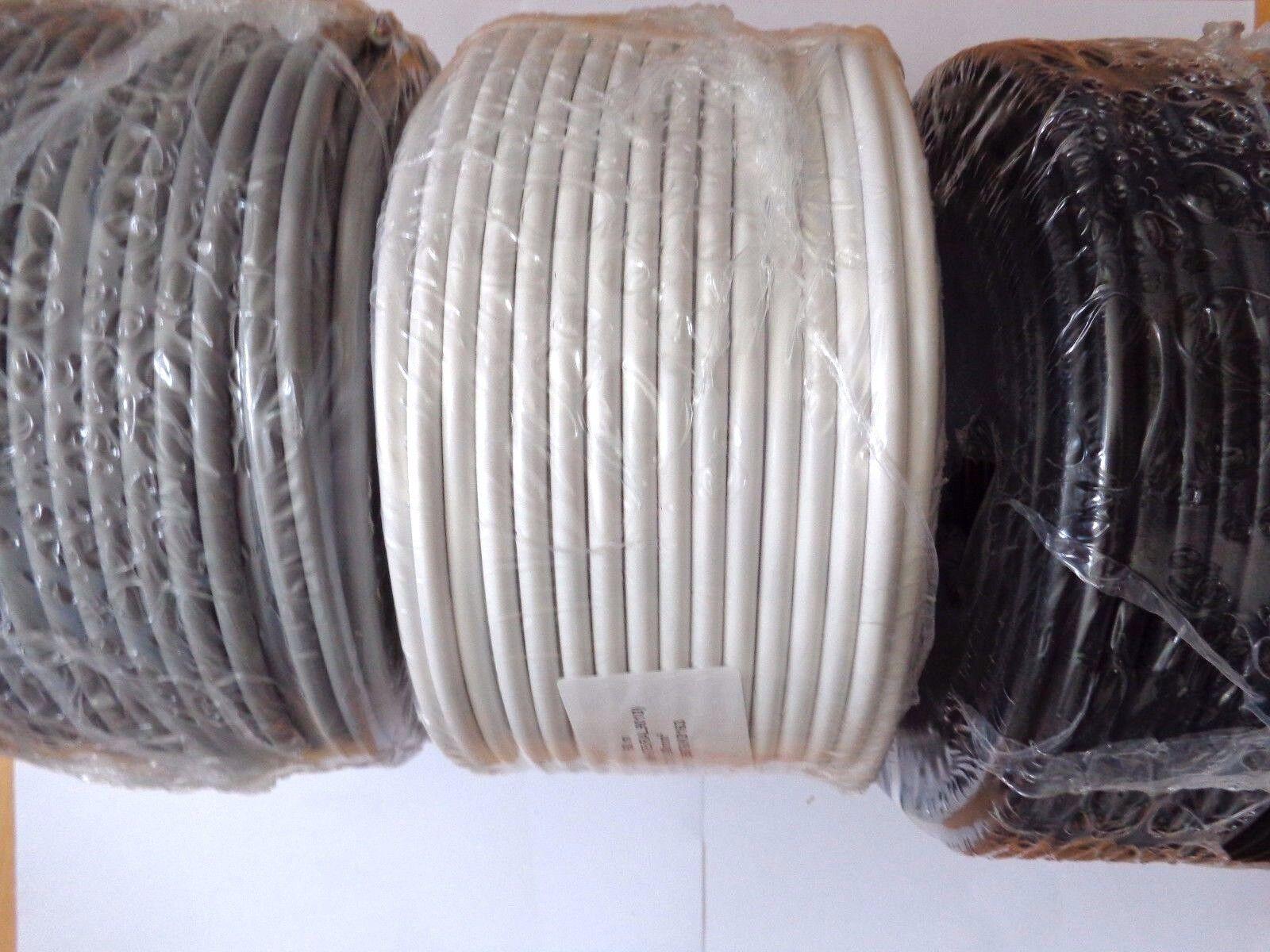 H05VV-F PVC-Leitung Schlauchleitung flexibles Kabel Ring 100 50 m | Angemessene Lieferung und pünktliche Lieferung