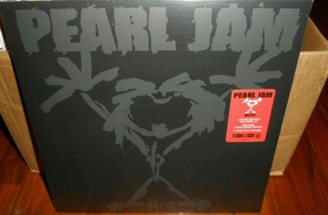 "Pearl Jam Alive 12"" Vinyl RSD Limited I've Got A Feeling Dirty Frank Wash SEALED"