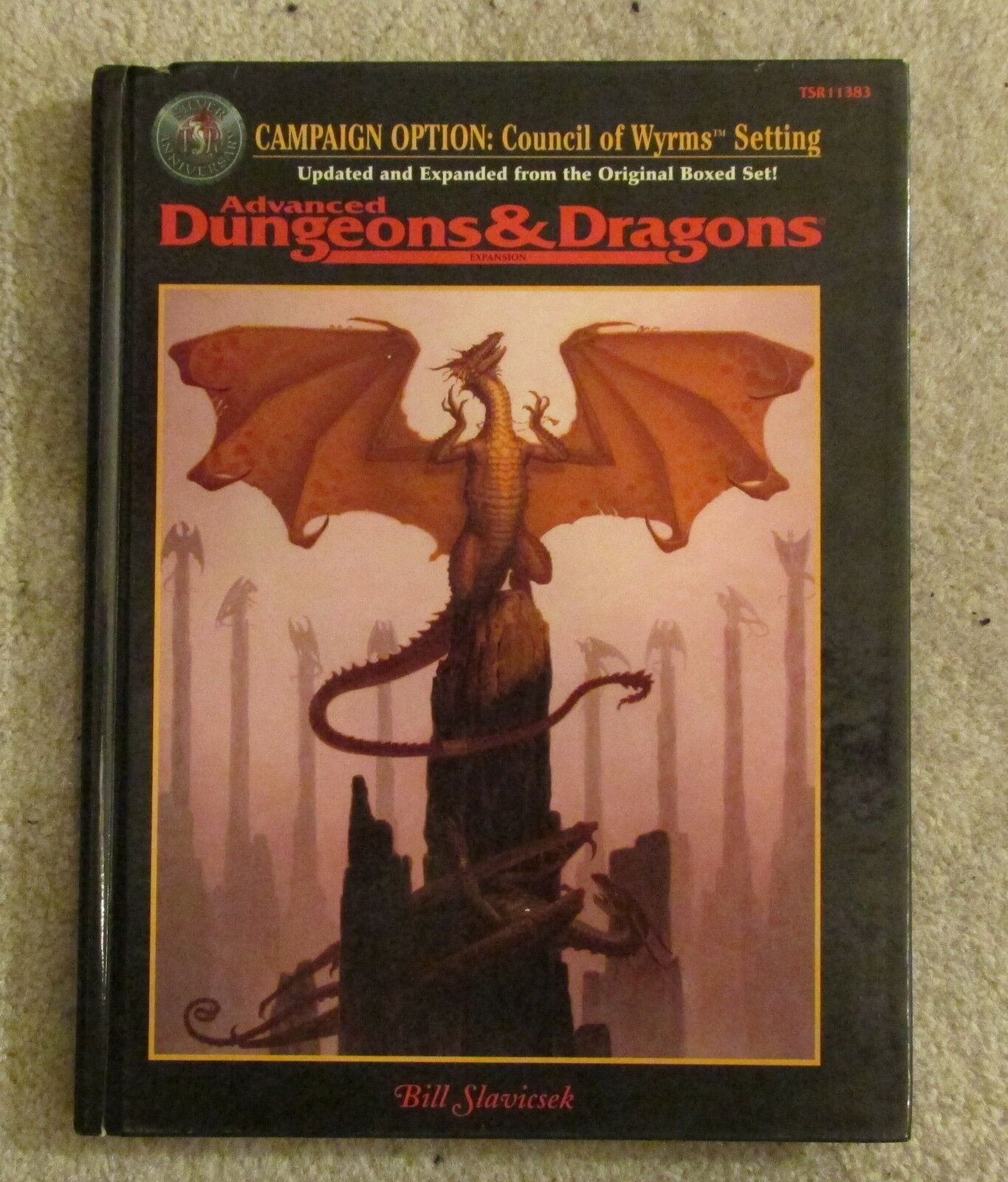 Dungeons & dragons council of wyrms  book