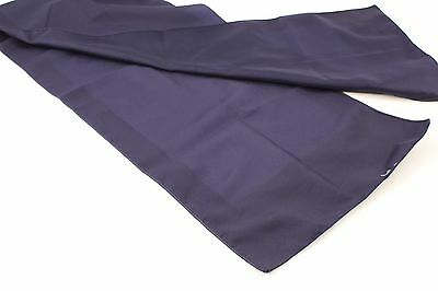 Blue Tone On Tone Oblong Scarf 52 X 11 Inches VGC