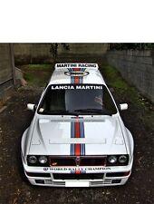 Lancia delta hf integrale 4wd 8-16v evo adesivi stickers livrea martini decal