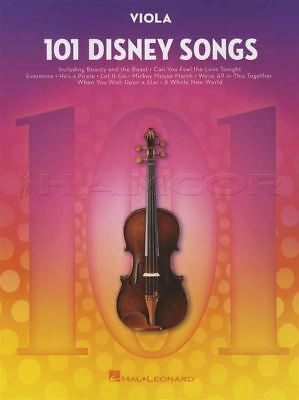 101 Disney Songs For Viola Sheet Music Book Frozen Lion King Toy Story Moana Complete Reeks Artikelen