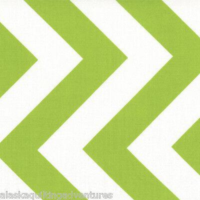 32349 18 MODA Fabric ~ HALF MOON MODERN ~ Chevron//Sunshine by the 1//2 yard