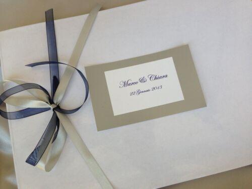 GUEST BOOK nozze matrimonio GULP Buonanno sposi wedding