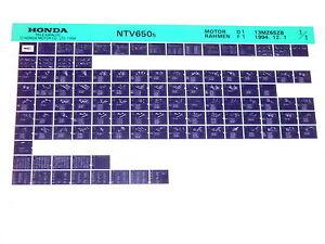 100% Vrai Microfich Pièce De Rechange Liste _ Ntv 650 _ Ntv650 _ Revere _ Rc33 _ Bj 1995-e _ Ntv 650 _ Ntv650 _ Revere _ Rc33 _bj 1995 Fr-fr Afficher Le Titre D'origine