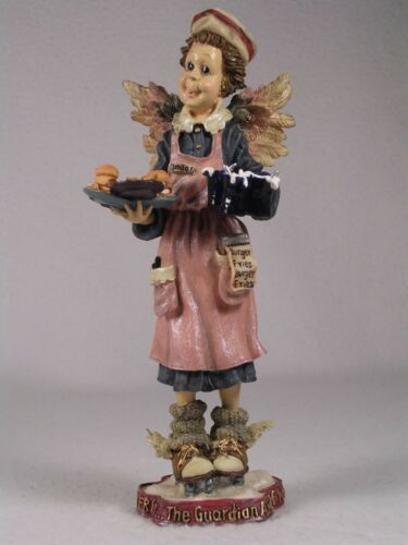 Boyds Bears 'Ms. Fries...Bearstone-Angel Of Waitresses Figurine #28246 New In Bx