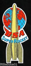 """BSA SUPER ROCKET"" MOTORCYCLE STICKER / DECAL ARIEL CAFE RACER TRIUMPH HOG"