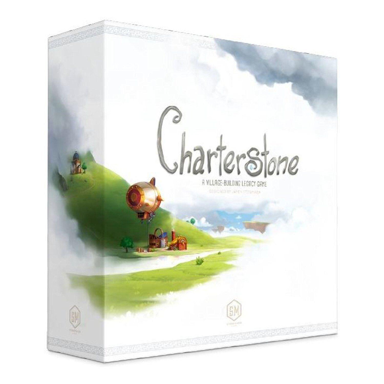 Charterstone Gioco da tavolo English-OVP stonemaier Games