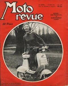 Moto-Revista-N-1244-De-1955-Ensayo-de-La-250-Puch-SE-G