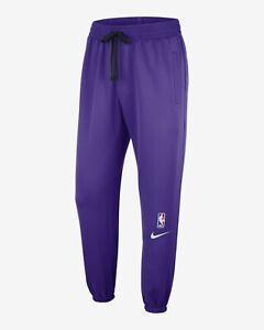 Nike NBA Los Angeles Lakers Showtime Therma Flex Pantalon Men's Field Violet Noir