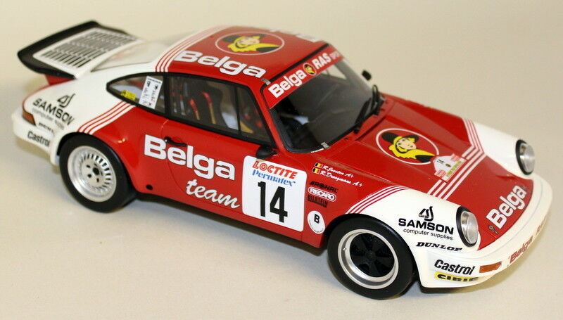 Otto 1 18 Scale ot676 PORSCHE 911 SC RS Ypres Rally 1985 Resin SEALED model car