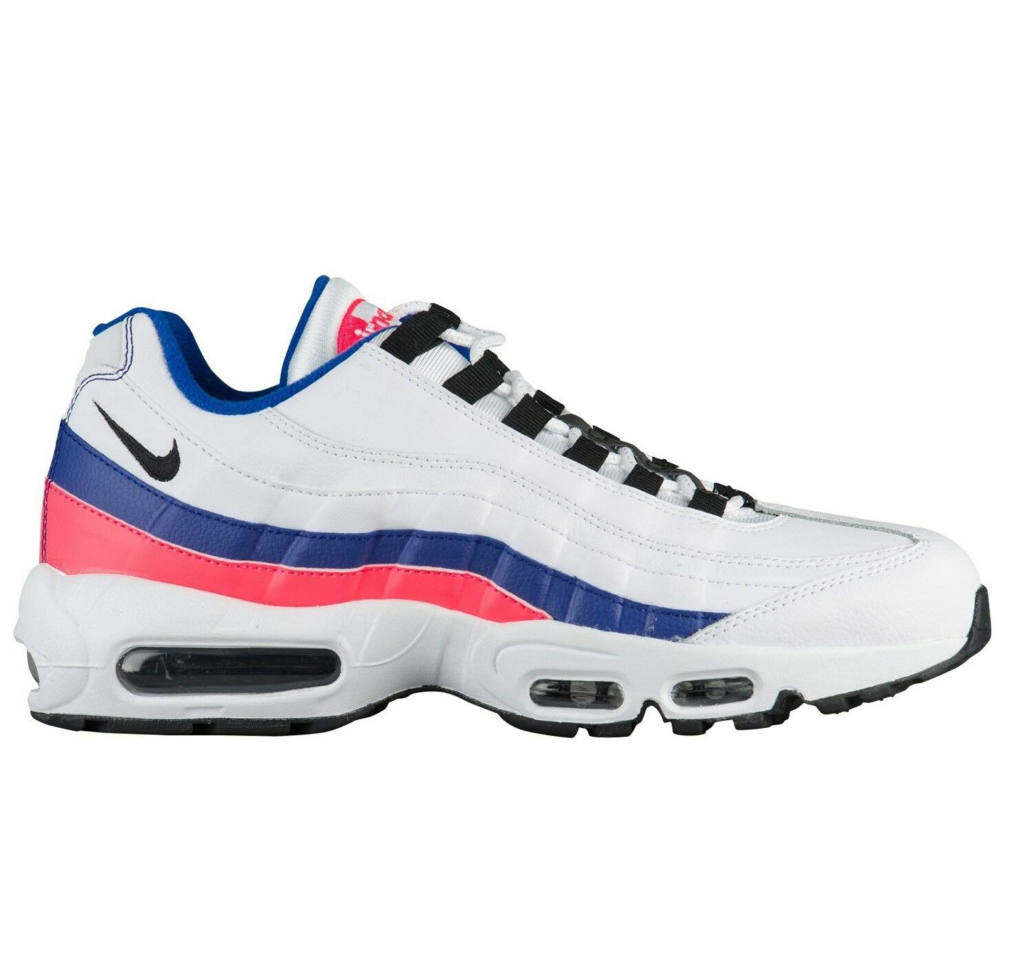 Nike Air Max 95 Essential Mens 749766-106 Ultramarine Solar Red Shoes Comfortable Casual wild