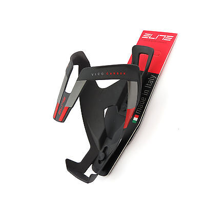Black x Red SpeedPark Carbon Fibre Bike Bicycle Cycling Bottle Cage Holder