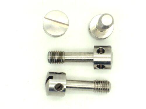 plombages Boulon, acier inoxydable, sécurité Boulon, dispositif de sécurité 4x vis m5 x 16 s5