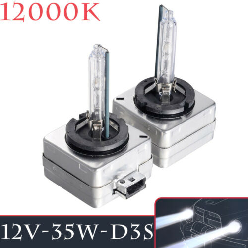2Pcs 35W D3S HID XENON Lights Replacement Headlamp Bulbs Lamps