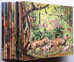 IL-LIBRO-DELLA-JUNGLA-completa-1-14-ed-G-Conte-1951-ottimo-edicola-RARISSIMI