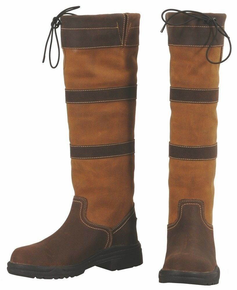 Tuffrider Men's Lexington Waterproof Tall Country Boot Leather and  Suede  find your favorite here