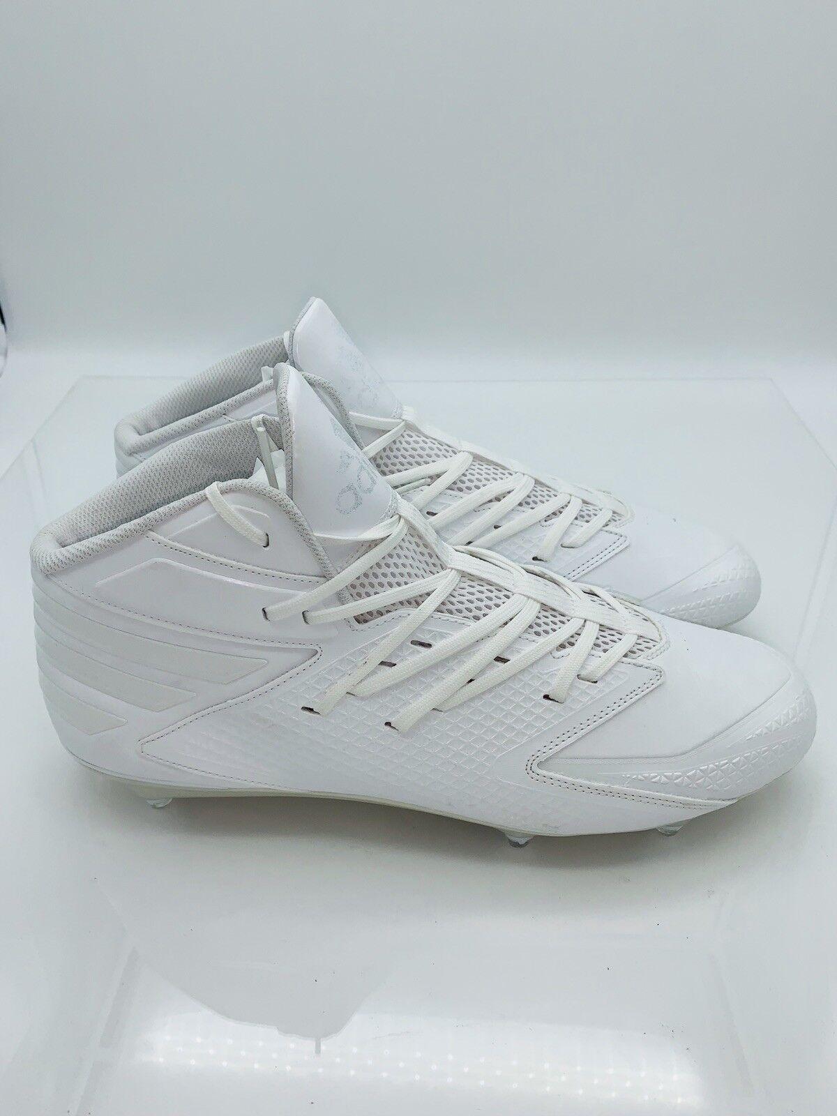 db601e983 Adidas Men s Freak X Carbon D Iron Skin Football Cleats White 13US White  Mid nunocq4045-Men