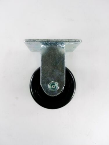"Rigid 4/"" x 2/"" Phenolic Wheel Caster"