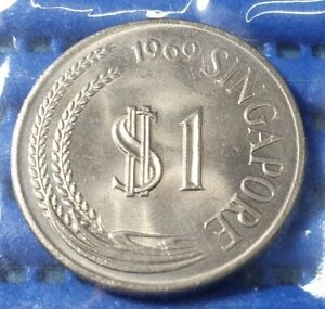 1969-Singapore-1-Stylised-Lion-Coin