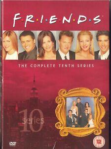 FRIENDS, THE COMPLETE 10th SERIES, 3 DVDs, 18 EPISODES, ENGLISH+DUTCH SUBTITLES